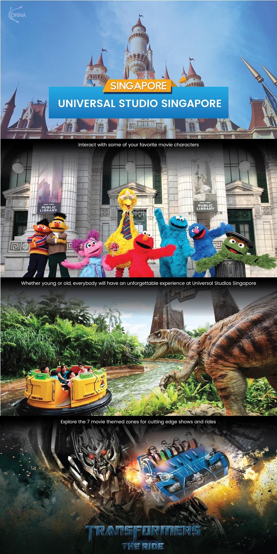 Universal Studio Singapore Promo Tiket Masuk Wisata