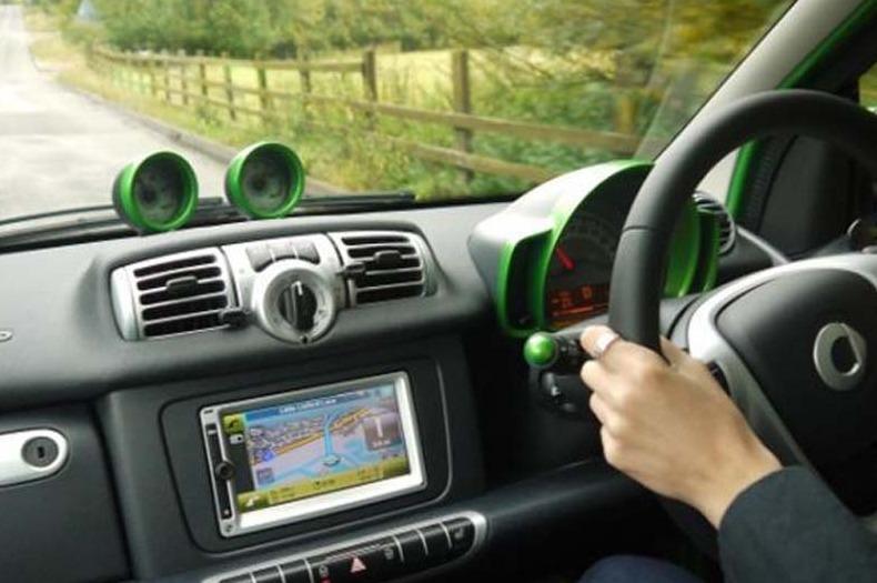 Menyetir Mobil Sendiri