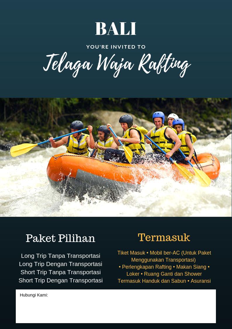 Nikmati Untung Berlimpah Bersama Program Partner Korina Tour Tiket Rafting Sungai Ayung Bali Ter Short Yang Menarik Pilihan Paket Dan Atraksi Dalam Atau Luar Negeri Tidak Ada Kontrak Khusus Custom Sesuai Permintaan